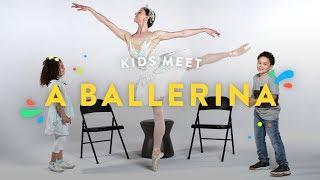 Kids Meet a Ballerina | Kids Meet | HiHo Kids