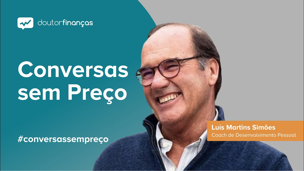 Imagem de um smartphone onde se vê o programa Conversas sem Preço com a entrevista a Luís Martins Simões, CEO da MS Leadership