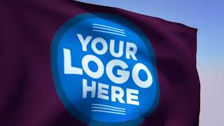 I will make an amazing live Flag logo or image animation