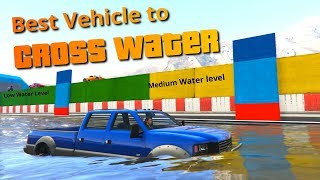 GTA V Which is the best Vehicle to cross water PART 1