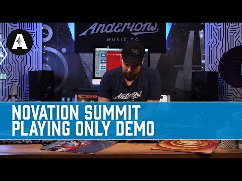 Novation Summit - Playing Only Demo