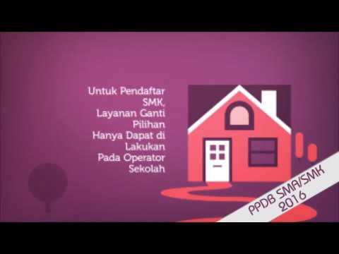 Video Tata Cara Pendaftaran SMA/SMK Negeri di Kota Tangerang