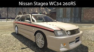 Nissan Stagea WC34 260RS [Replace | Extras | Unlocked] - GTA5-Mods com