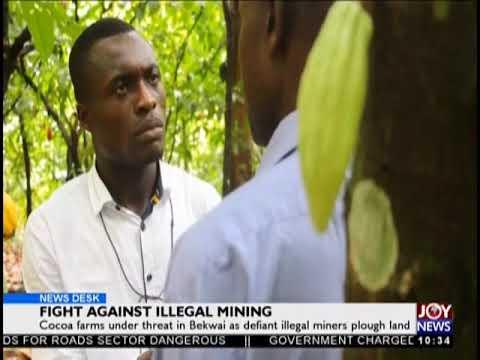 Fight Against Illegal Mining - News Desk on JoyNews (27-9-18)