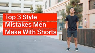 Shorts For Men   Top 3 Style Mistakes And How To Get The Best Fitting Shorts