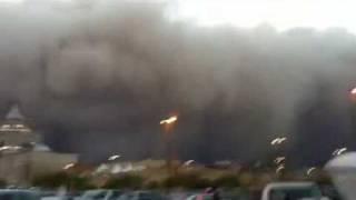 preview picture of video 'عاصفة الكويت بالكوت -sandstorm in kuwait .25-3-2011'