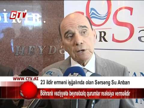 23 ildir erməni işğalında olan Sərsəng Su Anbarı