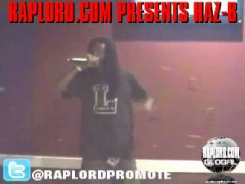 Raplord.com Global Presents Haz-B Live @ The Shark Bar-6-15-12.
