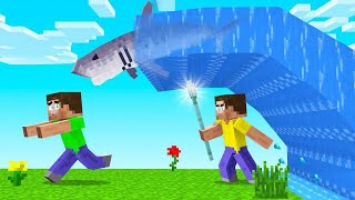 Learning To Bend Water In Minecraft Summoned A Shark