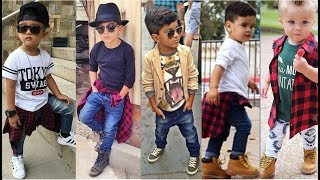 Swag Fashion Ideas For Little Boys 2018
