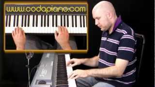 Easy Piano Lessons - Chords with Left Hand Rhythms Ch1