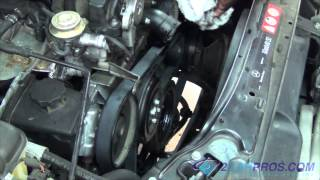 Serpentine Belt Replacement Mercedes Benz