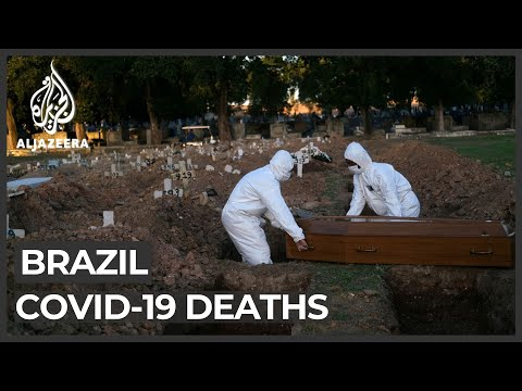 Brazil's coronavirus death toll now the world's fourth-highest