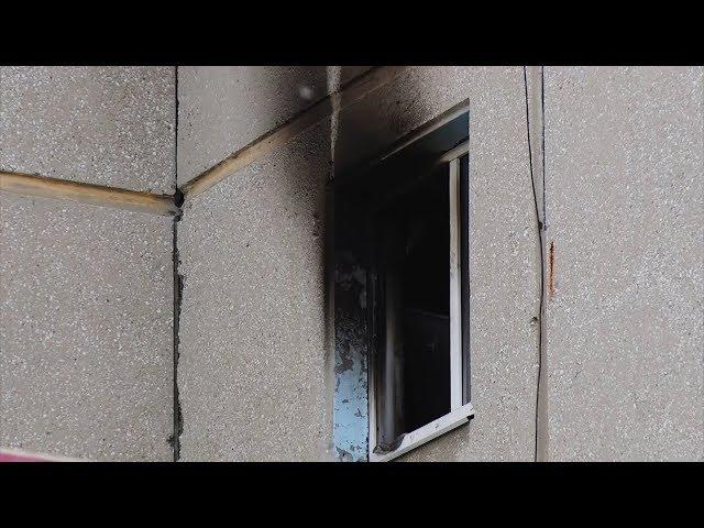 В Ангарске горела квартира