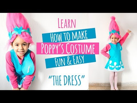 DIY Poppy Troll Costume
