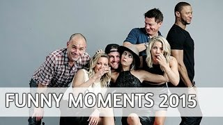 "Сериал ""Стрела"", Arrow cast // funny moments [ 2015]"
