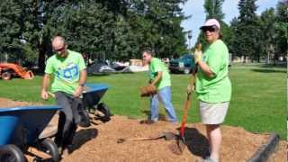 preview picture of video 'Penn Park, York City PA Playground Build'