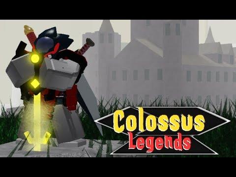 EVENT⚔️RAID Colossus Legends - Roblox