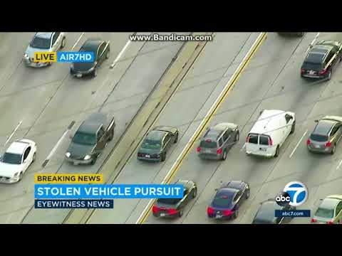 California Police Standoff After Chase January 30 2018 - Naijafy