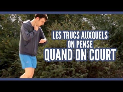 Vidéos - Les trucs auxquels on pense quand on court