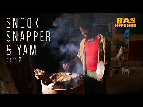 Snook Red Snapper & Yam part 2…di boat land!