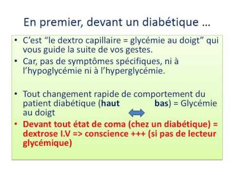 Recevoir du sucre de taux dans le diabète de type 2