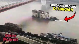 Cuma di China, Mindahin Gedung Lewat Sungai
