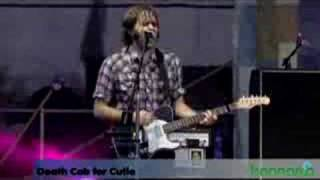 Death Cab -  Cath Live at Bonnaroo 08