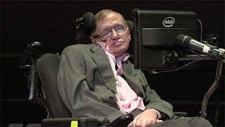 Stephen Hawking on black holes - Professor Stephen Hawking