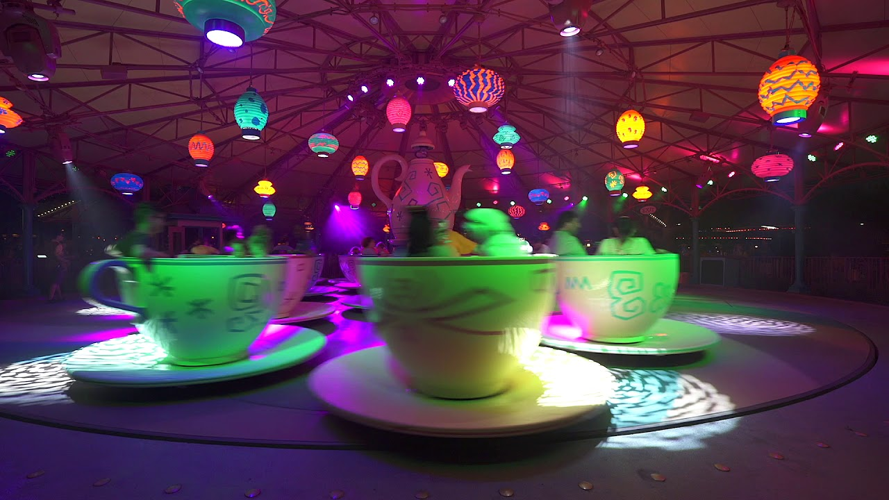 Mad Tea party with Halloween Party Lighting