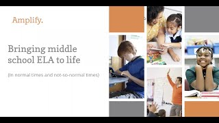 How To Bring Middle School ELA To Life: A Teacher's Perspective