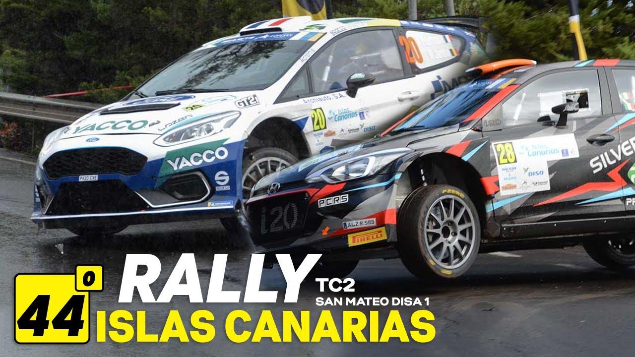 44º Rally Islas Canarias - TC2 San Mateo - Disa 1