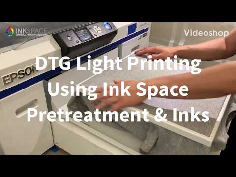Download Printing A Dark Garment With Epson Surecolor F2000 Video