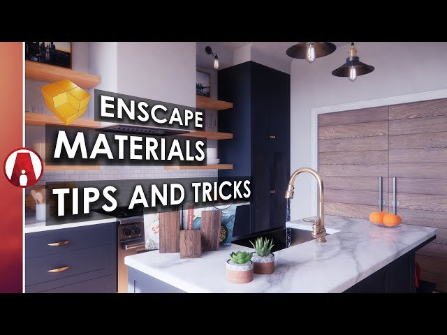 Realistic Materials In Revit Enscape the secret of realistic
