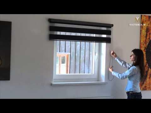 Doppelrollos / Duo Rollos für Fenster und Türen von VICTORIA M