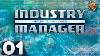 """Industry Manager #01 """"Uma nova empresa"""" - Vamos Jogar Gameplay Português PT-BR"""