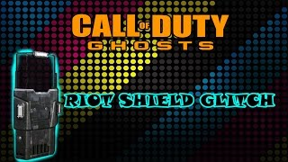 preview picture of video 'COD Ghosts RIOT SHIELD GLITCH !'