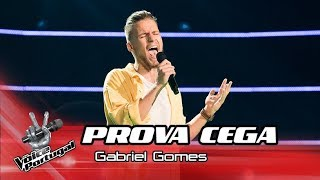 "Gabriel Gomes - ""Song for You"" | Prova Cega | The Voice Portugal"