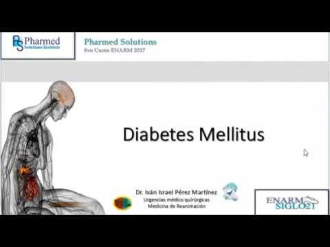 Presentación de la diabetes en los ancianos