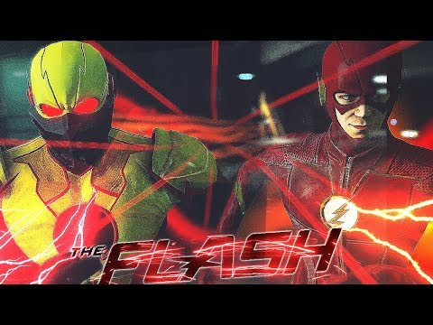 Crisis On Earth-X Crossover | The Flash VS Reverse Flash - Supergirl VS Overgirl