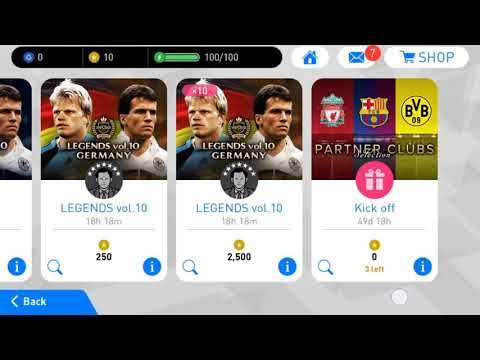 How to get Messi from partner club | pes 2018 Mobile - смотреть