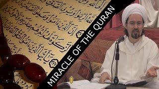 Miracle of the Quran - Shaykh Hamza Yusuf   Amazing