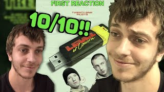 *THE REAL* First Reaction to Twenty-One Pilots - Level Of Concern (+ Review)