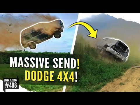 LONGEST DODGE Durango JUMP EVER! 4X4 LAUNCH!!!