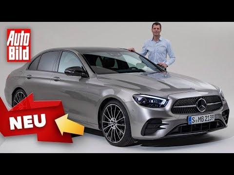 Mercedes E-Klasse (2020): Neuvorstellung - Facelift - Genf 2020 - Test - Sitzprobe - Motor - deutsch