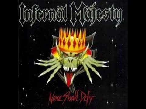 INFERNÄL MÄJESTY - None Shall Defy online metal music video by INFERNÄL MÄJESTY