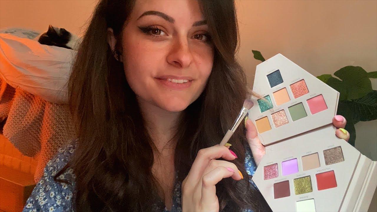 ASMR | Je te maquille ♡ Attention personnelle ~ avec la palette Otrera de @Sananas