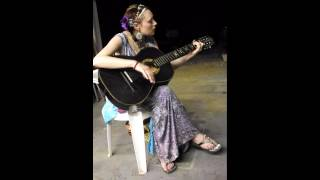 """Just Like Me"", a Joni Mitchell tune performed by Sarah Hutchison."