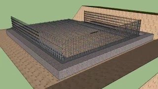 Sketchup 3d Animation Of Basement Details