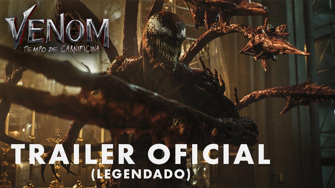 Venom: Tempo de Carnificina | Sequência tem novo trailer revelado
